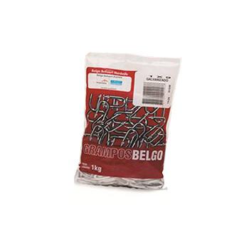 Grampo Aço 7/8x9 Galvanizado 1kg - Ref. 40466873 - BELGO
