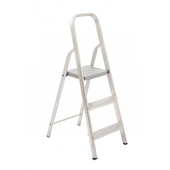 Escada De Alumínio 3 Degraus Tesoura - Ref. 04503 - MAESTRO