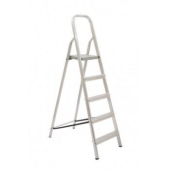 Escada De Alumínio 5 Degraus Tesoura - Ref. 04505 - MAESTRO
