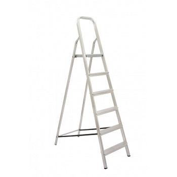 Escada De Alumínio 6 Degraus Tesoura - Ref. 04506 - MAESTRO