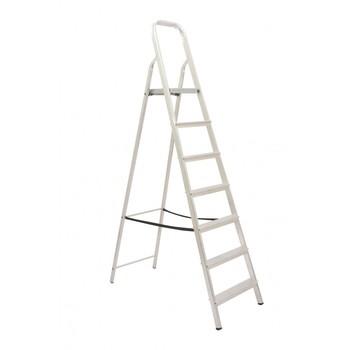 Escada De Alumínio 7 Degraus Tesoura - Ref. 04507 - MAESTRO