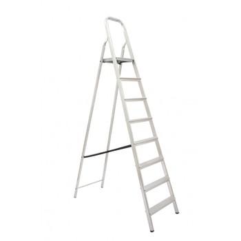Escada De Alumínio 8 Degraus Tesoura - Ref. 04508 - MAESTRO