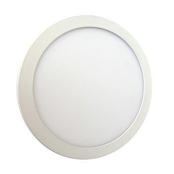 Luminária Plafon LED 6W 6500K Bivolt Embutir Redondo Branco - Ref. DI48313 - DILUX
