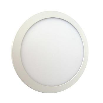 Luminária Plafon LED 12W 6500K Bivolt Embutir Redondo Branco - Ref. DI48351 - DILUX
