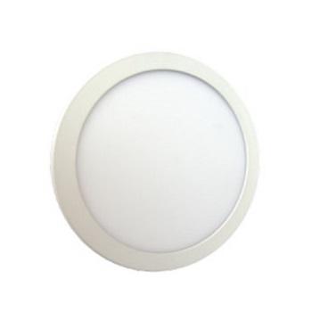 Luminária Plafon LED 24W 6500K Bivolt Embutir Redondo Branco - Ref. DI48436 - DILUX
