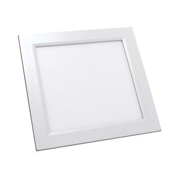 Luminária Plafon LED 32W 6500K Bivolt de Embutir Quadrado Branco - Ref.DI48450 - DILUX