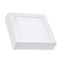 Luminária Plafon Led 12w 6500k Bivolt Sobrepor Quadrado Branco - Ref. DI48535 - DILUX
