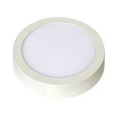 Luminária Plafon LED 12W 6500K Bivolt Sobrepor Redondo Branco - Ref. DI48559 - DILUX