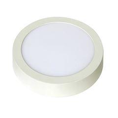 Luminária Plafon LED 18W 6500K Bivolt de Sobrepor Redondo Branco - Ref.DI48597 - DILUX