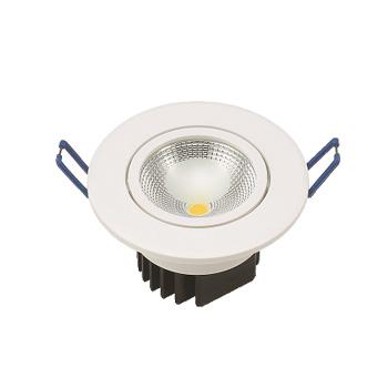 Spot LED 5W Bivolt Embutir Redondo 6500K - Ref. DI48658 - DILUX