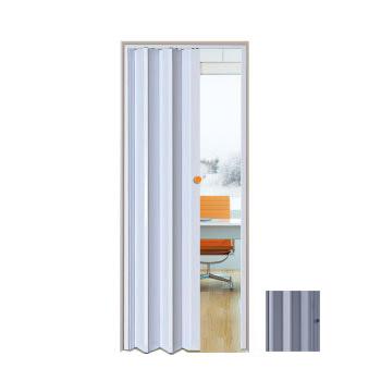 Porta Sanfonada PVC 0,70x2,10m Easy Cinza - Ref. 05030702 - ARAFORROS