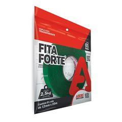 Fita Dupla Face 12mmx20m XT100 Verde - Ref.28459001419- ADERE