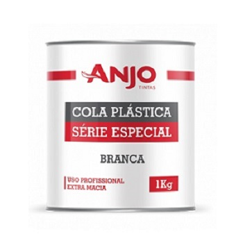 Massa Plástica Série Especial Branca 1kg - Ref. 031835-34 - ANJO TINTAS