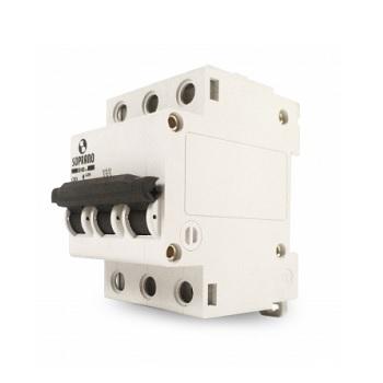 Disjuntor Tripolar 50A DIN SHB3 - Ref.05121.0050.31 - SOPRANO