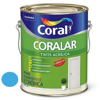 Tinta Acrílica Fosca Coralar Oceano 3,6 Litros - Ref. 5202290 - CORAL