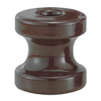 Isolador Porcelana 67x72mm Roldana - Ref. 40.30 - FOXLUX