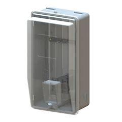 Caixa para Medidor de Energia Trifásico Padrão CE CMD3 P2 Cinza- Ref.7381 - TAF