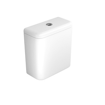 Caixa Acoplada 3 e 6 Litros Nuova Carrara Dual Flux Gelo - Ref. CD.11F.17 - DECA