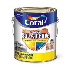 Selador Impermeabilizante Sol & Chuva 3,6 Litros - Ref. 5280728 - CORAL