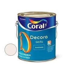 Tinta Acrílica Acabamento de Seda Acetinado Algodão Egípcio 3,6 Litros - Ref. 5280801 - CORAL