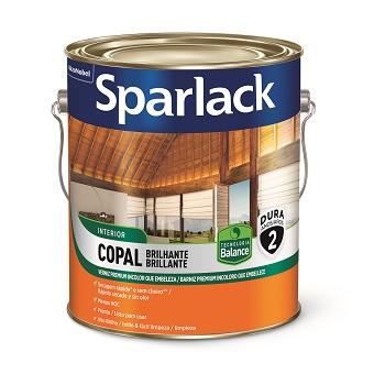Verniz Brilhante Copal Base Água Transparente 3,6 Litros - Ref. 5280589 - SPARLACK