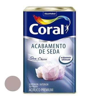 Tinta Acrílica Acabamento de Seda Acetinado Adorno Rupestre 18 Litros - Ref. 5280800 - CORAL