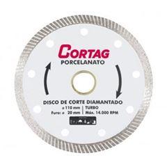 Disco Diamantado 110x20mm Porcelanato - Ref. 60863 - CORTAG