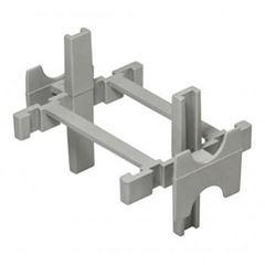 Espaçador Plástico Bloco Vidro PCT10 Cinza - Ref.60535 -CORTAG