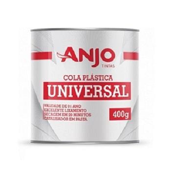 Massa Plástica 400g Serie Especial Branca - Ref. 031835-08 - ANJO TINTAS