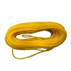 Espaguete PVC 5x6,8mm Amarelo Opaco 1kg - Ref.362 - PLASTMAR