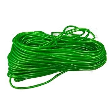 Espaguete PVC 5x6,8mm Verde Amazonas 1kg - Ref.408 - PLASTMAR