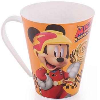 Caneca Plástica 360ml Mickey - Ref.8273 - PLASUTIL