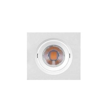 Spot Abs Led 3W Embutir Marrom 11 Quadrado 6500K - Ref. 435892 - BRILIA