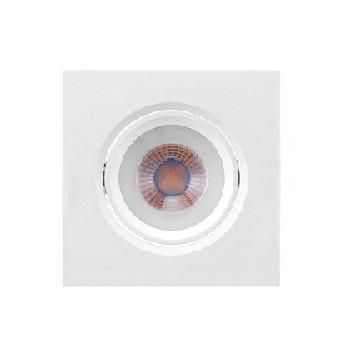 Spot ABS Led 4,5w Bivolt de Embutir MR16 Quadrada 2700k - Ref.435731 - BRILIA