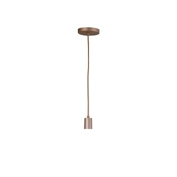 Pendente Alumínio 40w Uno E27 Bronze Mate - Ref. 0007296 - ATTENA