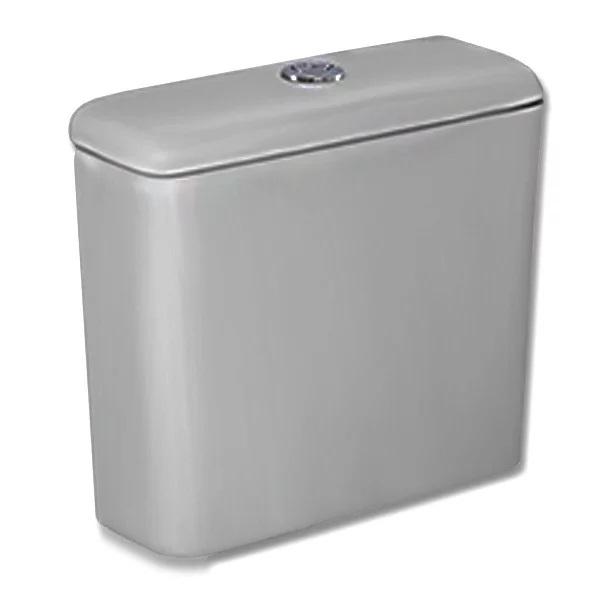 Caixa Acoplada 3 e 6 Litros  Duplo Acionamento Azálea Acesso Cinza Prata - Ref.1555700775300 - CELITE