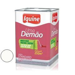Tinta Acrílica Fosca 18 Litros Uma Demão Branco Neve - Ref. 283300205 - IQUINE