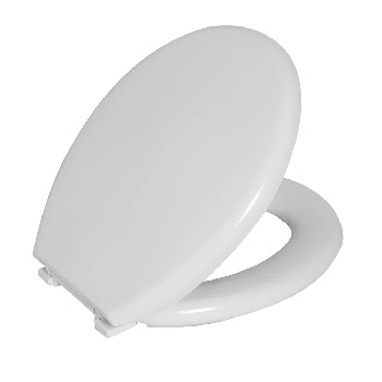 Assento Almofadado Universal Perfumado Branco - Ref. TPKP*BR1 - ASTRA
