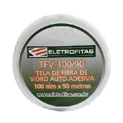 Malha Fibra de Vidro 10cmx90m Venda por Metros Proteção - Ref. TFV-100/90 - ELETROFITAS