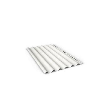 Telha CRFS 1,10x2,44 Topconfort 5mm Branca - Ref.225152445 - BRASILIT