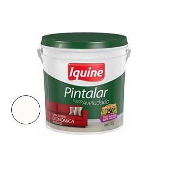 Tinta Vinil Acrílica Pintalar Branco Neve 15 Litros - Ref.79300226 - IQUINE