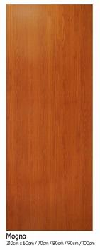 Porta Madeira 90x210 Lisa Duratex Mogno - Ref.1866 - KDK