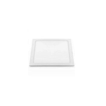 Plafon ABS Alumínio Led 24w Embutir Slim Quadrado 6500k Branco - Ref. RL22246BC - BRONZEARTE