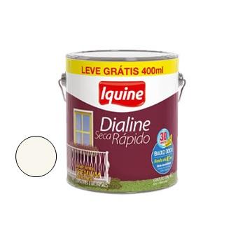 Esmalte Brilhante Dialine Secagem Rápida Premium Branco Neve 4 Litros - Ref. 62200248 - IQUINE