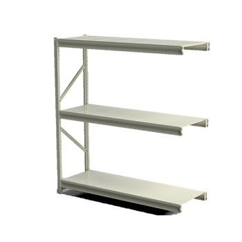 Mini Porta Pallet 2,0x1,2x0,6m Slim Continuação Branco - Ref.SCC111206020B - SA GÔNDOLAS