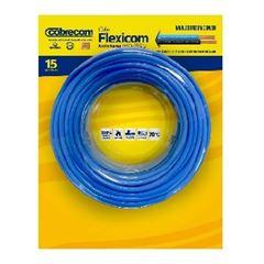 Cabo Flexível 1,5mm 15m 750v Azul Claro - Ref.1150402401-15M - COBRECOM
