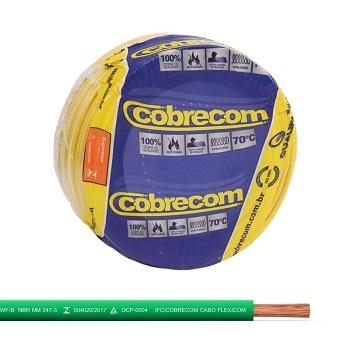Cabo Flexível 2,5mm 50m 750v Verde - Ref.1150505401-50M - COBRECOM
