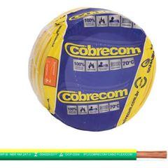 Cabo Flexível 2,5mm 100m 750v Verde/Amarelo - Ref.1150552401-100m - COBRECOM