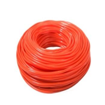 Espaguete PVC 5x6,8mm Laranja 1kg - Ref.384 - PLASTMAR