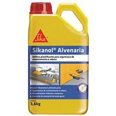 Aditivo Plastificante 3,6L Argamassa/Chap SIKANOL - Ref. 427967 - SIKA